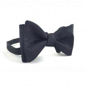 Papion self-tie negru